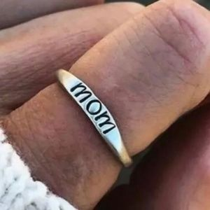 """Mom"" ring"